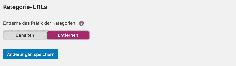 Yoast SEO Kategorie Präfix entfernen